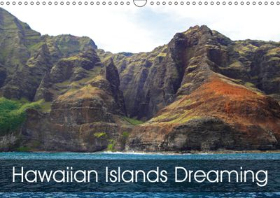 Hawaiian Islands Dreaming (Wall Calendar 2019 DIN A3 Landscape), Robert Meyers-Lussier
