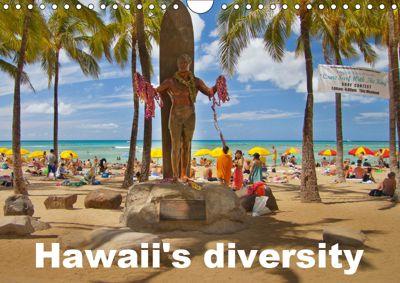 Hawaii's diversity (Wall Calendar 2019 DIN A4 Landscape), k.A. studio-fifty-five