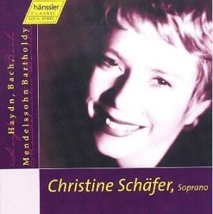 Haydn/Bach/Mendelssohn, Christine Schäfer