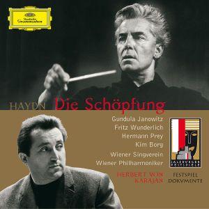 Haydn, J.: The Creation (Die Schöpfung), Janowitz, Wunderlich, Borg, Prey, Karajan, Wp