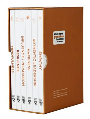 HBR Emotional Intelligence Series: HBR Emotional Intelligence Boxed Set (6 Books) (HBR Emotional Intelligence Series), Daniel Goleman, Annie McKee, Herminia Ibarra, Bill George, Harvard Business Review