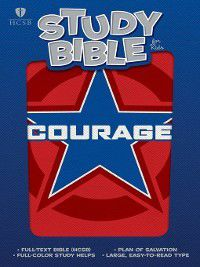 HCSB Study Bible for Kids, Courage