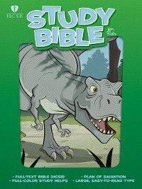 HCSB Study Bible for Kids, Dinosaur