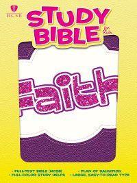 HCSB Study Bible for Kids, Faith