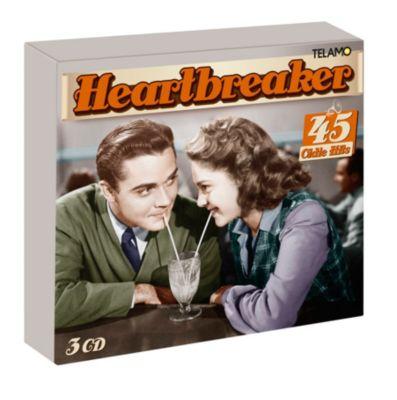 Heartbreaker - 45 Oldie Hits (3 CDs), Diverse Interpreten
