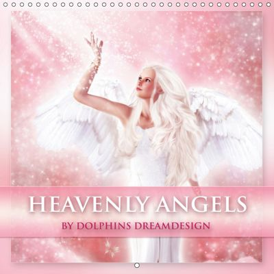 Heavenly Angels (Wall Calendar 2019 300 × 300 mm Square), Gaby Shayana Hoffmann