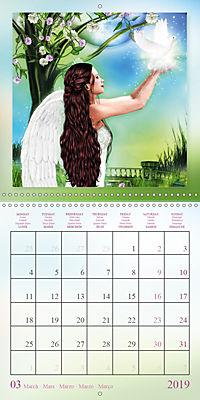 Heavenly Angels (Wall Calendar 2019 300 × 300 mm Square) - Produktdetailbild 3
