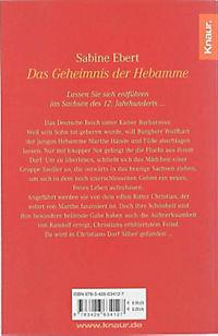 Hebammen-Romane Band 1: Das Geheimnis der Hebamme - Produktdetailbild 1