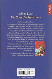 Hebammen-Romane Band 2: Die Spur der Hebamme - Produktdetailbild 1