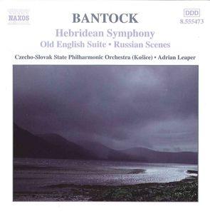 Hebridean Symphony/Old English, Adrian Leaper, Csspo
