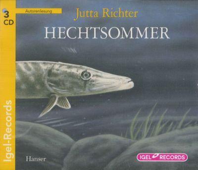 Hechtsommer, 3 Audio-CDs, Jutta Richter