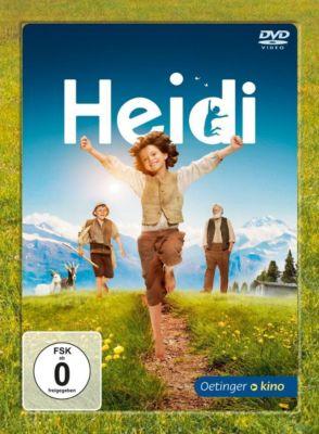 Heidi, 1 DVD, Johanna Spyri