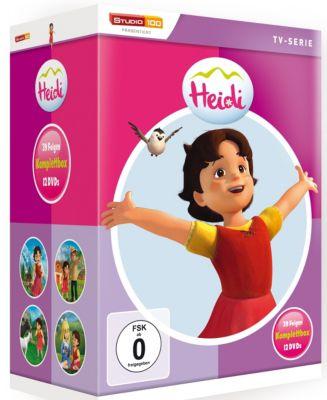 Heidi (CGI) - Komplettbox, Johanna Spyri