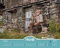 Heidi - Der Kalender zum Kinofilm 2016 - Produktdetailbild 3