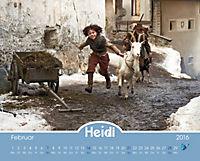 Heidi - Der Kalender zum Kinofilm 2016 - Produktdetailbild 2