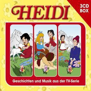 Heidi - Hörspielbox, 3 Audio-CDs
