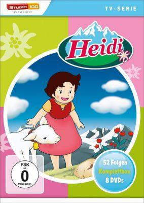 Heidi Komplettbox - Zeichentrick, Johanna Spyri