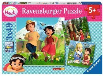 Heidi und ihre Freunde (Kinderpuzzle)