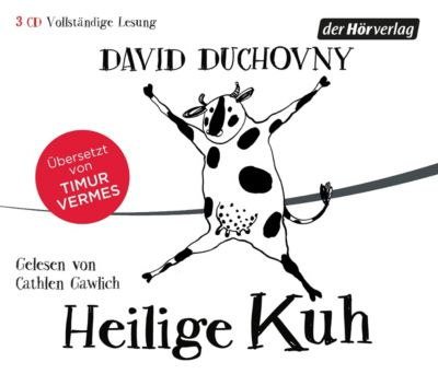 Heilige Kuh, 3 Audio-CDs, David Duchovny