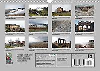 Heilige Stadt und heiße Quellen - Hierapolis und Pamukkale (Wandkalender 2019 DIN A4 quer) - Produktdetailbild 13