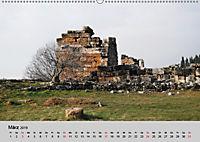 Heilige Stadt und heiße Quellen - Hierapolis und Pamukkale (Wandkalender 2019 DIN A2 quer) - Produktdetailbild 3