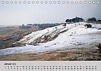 Heilige Stadt und heisse Quellen - Hierapolis und Pamukkale (Tischkalender 2019 DIN A5 quer) - Produktdetailbild 1