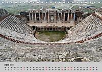 Heilige Stadt und heisse Quellen - Hierapolis und Pamukkale (Tischkalender 2019 DIN A5 quer) - Produktdetailbild 4