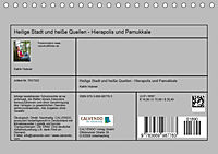Heilige Stadt und heisse Quellen - Hierapolis und Pamukkale (Tischkalender 2019 DIN A5 quer) - Produktdetailbild 13