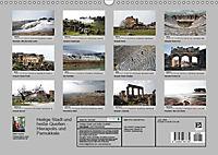 Heilige Stadt und heiße Quellen - Hierapolis und Pamukkale (Wandkalender 2019 DIN A3 quer) - Produktdetailbild 13