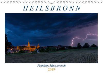 Heilsbronn - Frankens Münsterstadt (Wandkalender 2019 DIN A4 quer), Harald Endres