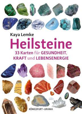 Heilsteine, m. 33 Karten - Kaya Lemke |