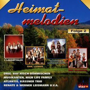 Heimatmelodien Folge 2, Various, 14 Titel