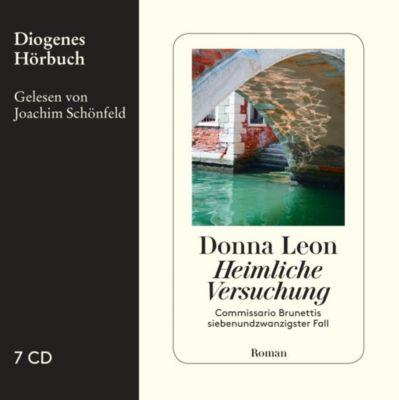 Heimliche Versuchung, 7 Audio-CDs, Donna Leon