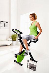 Heimtrainer Fahrrad mit Expanderbändern, klappbar - Produktdetailbild 1