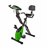 Heimtrainer Fahrrad mit Expanderbändern, klappbar - Produktdetailbild 2