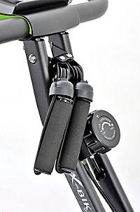 Heimtrainer Fahrrad mit Expanderbändern, klappbar - Produktdetailbild 4