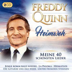 Heimweh-Meine 40 Schönsten Lieder Orig., Freddy Quinn
