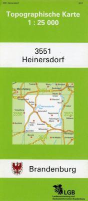Heinersdorf 1 : 25 000