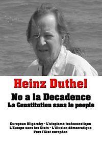 Heinz Duthel: No a la Decadence