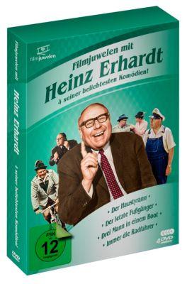 Heinz Erhardt Box - 4 seiner beliebtesten Komödien