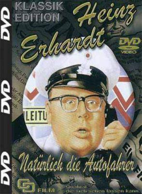 Heinz Erhardt - Natürlich die Autofahrer, DVD, Gustav Kampendonk