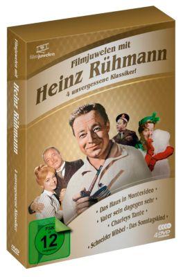Heinz Rühmann Box - 4 unvergessene Klassiker
