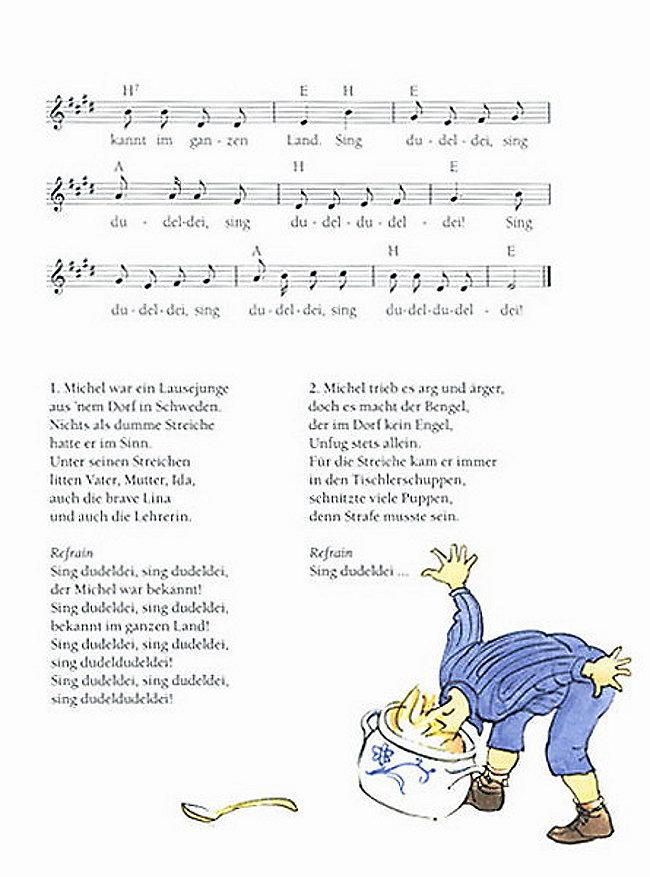 Lied Pippi Langstrumpf Text