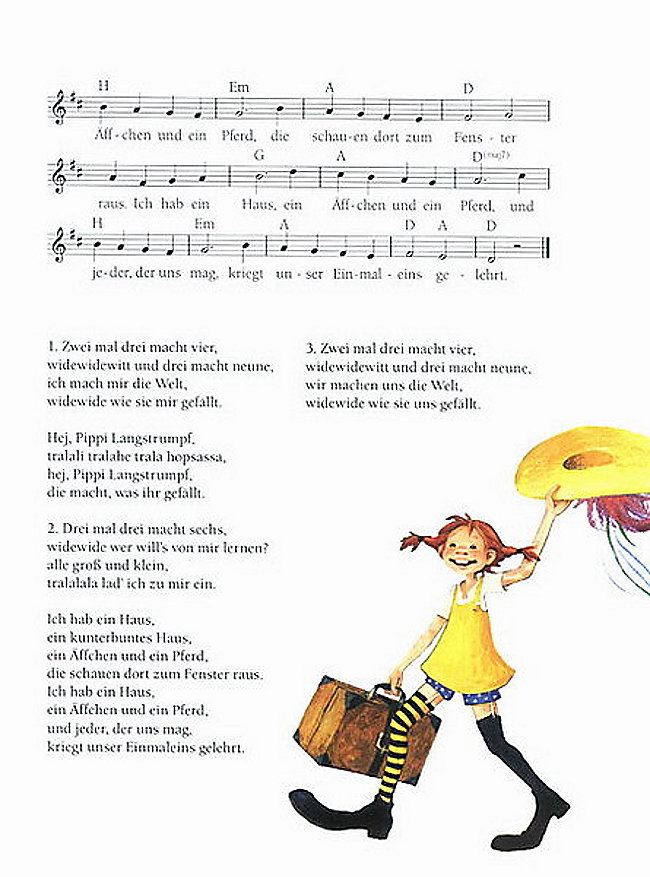 Lied Von Pippi Langstrumpf