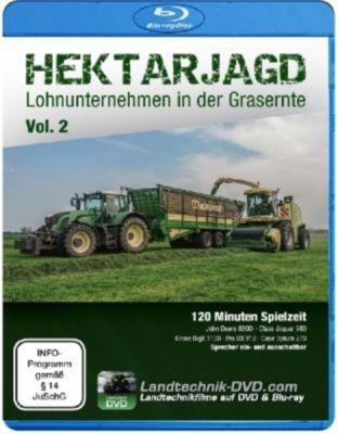 Hektarjagd - Lohnunternehmen in der Grasernte, Blu-ray