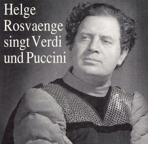 Helge Rosvaenge Singt Verdi+Puccini, Helge Rosvaenge, Scheppan, Schlusnus