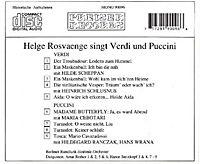 Helge Rosvaenge Singt Verdi+Puccini - Produktdetailbild 1