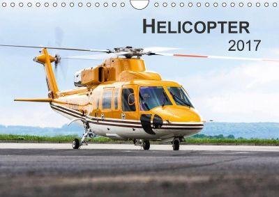 Helicopter 2017 (Wandkalender 2017 DIN A4 quer), Jens Neubert