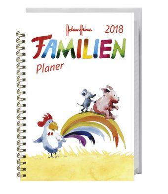 Helme Heine Familienplaner Buch A6 2018, Helme Heine