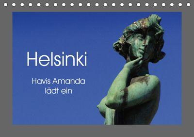 Helsinki - Havis Amanda lädt ein (Tischkalender 2019 DIN A5 quer), Pia Thauwald